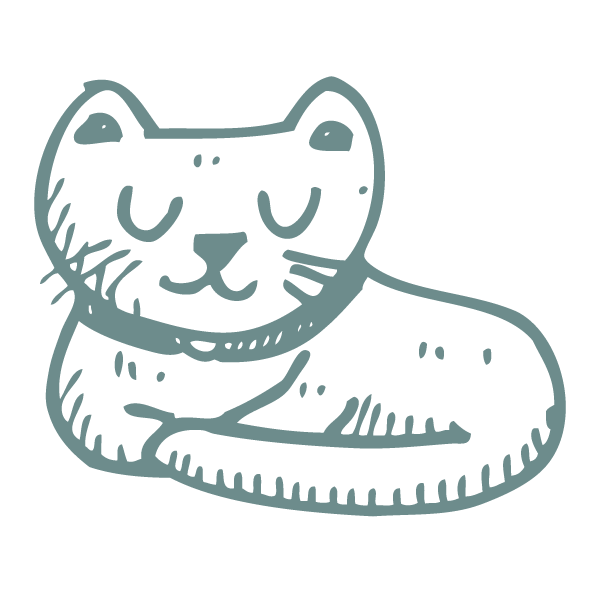 cat icon paw-destrian