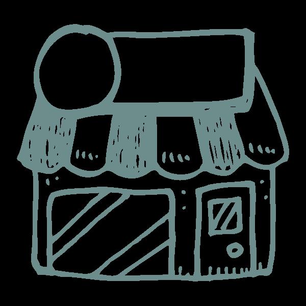 city icon paw-destrian
