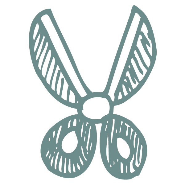 scissors icon paw-destrian