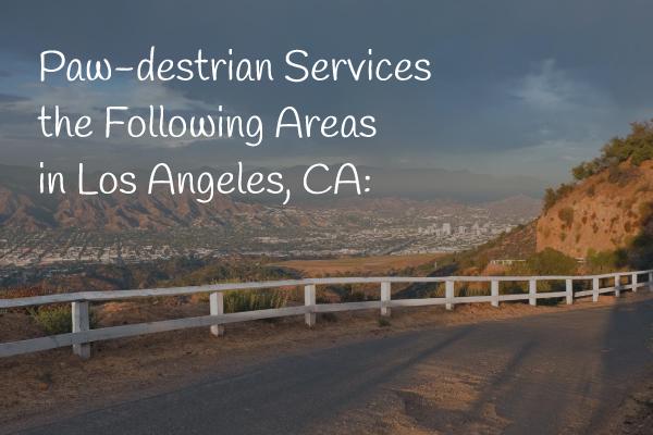 Paw-destrian Service Areas Mobile